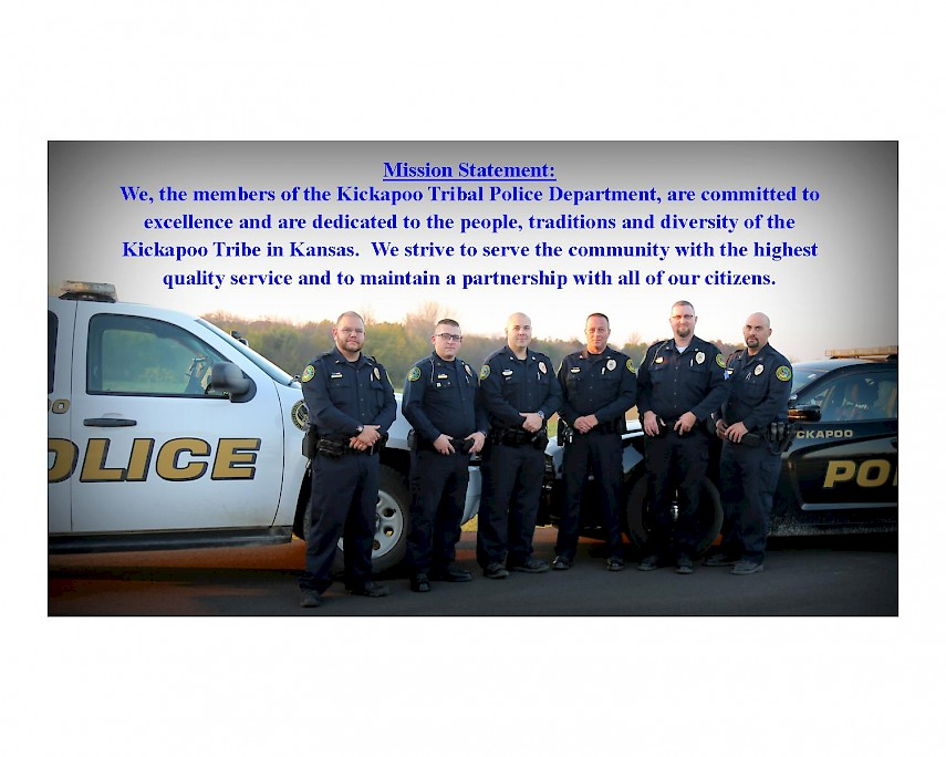 Tribal Police Mission Statement